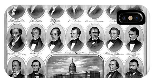 Washington iPhone Case - American Presidents First Hundred Years by War Is Hell Store