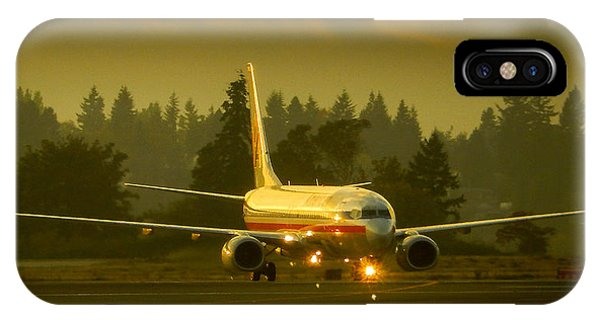 American Ready For Take-off IPhone Case