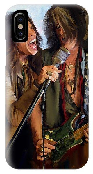 American Rock  Steven Tyler And Joe Perry IPhone Case