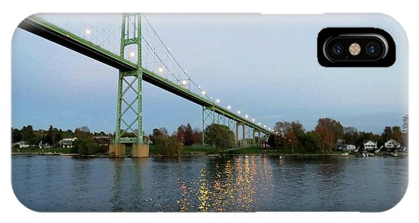 American Span Thousand Islands Bridge IPhone Case