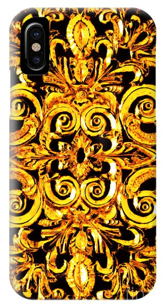 Swanky iPhone Case - American Victorian Rococo Goldsmithing Decorative Panel by Peter Ogden Gallery