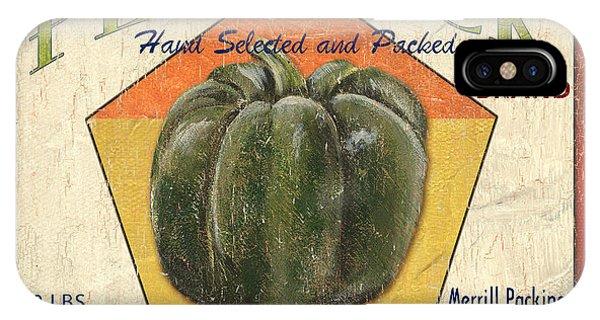 Agriculture iPhone Case - Americana Vegetables 1 by Debbie DeWitt