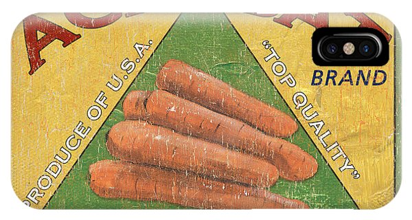 Agriculture iPhone Case - Americana Vegetables 2 by Debbie DeWitt