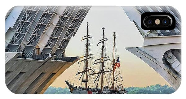 America's Tall Ship IPhone Case
