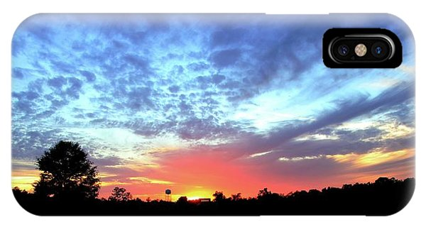 City On A Hill - Americus, Ga Sunset IPhone Case