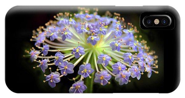 Amethyst Allium IPhone Case