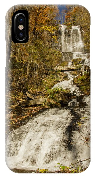 Amicola Falls Gushing IPhone Case