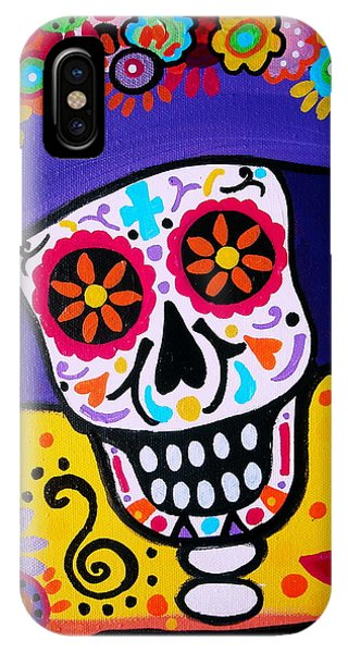 Amiga Catrina Smile IPhone Case