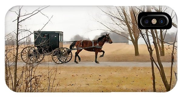 Amish Country iPhone Case - Amish Dream 1 by David Arment