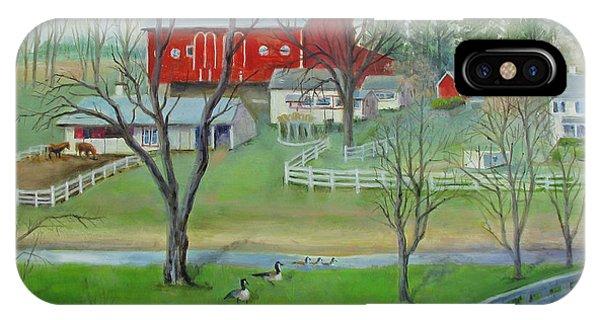 Amish Farm IPhone Case