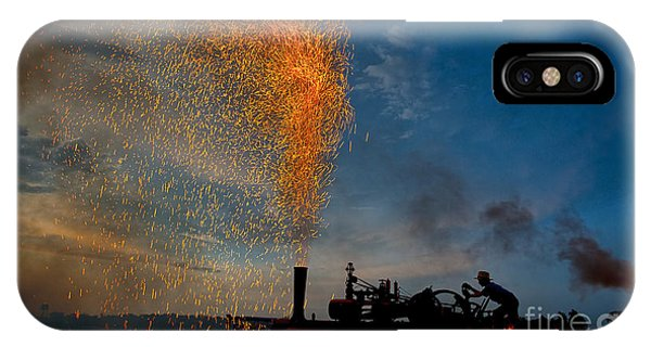 Amish Fireworks IPhone Case