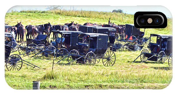 Amish Hillside IPhone Case