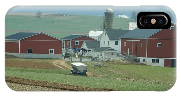 Amish Homestead 6 IPhone Case