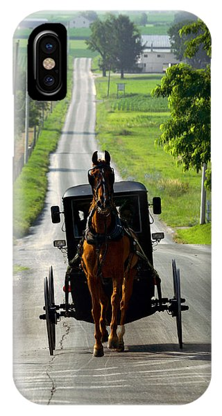 Amish Morning Commute IPhone Case