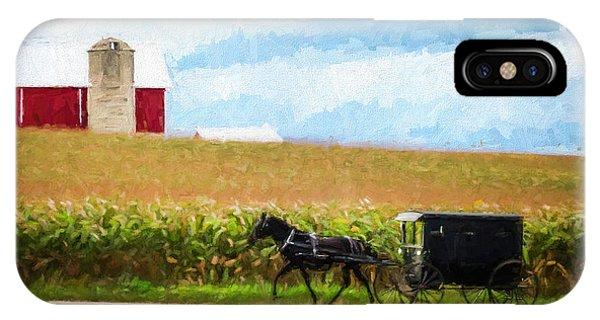 Amish Paradise IPhone Case