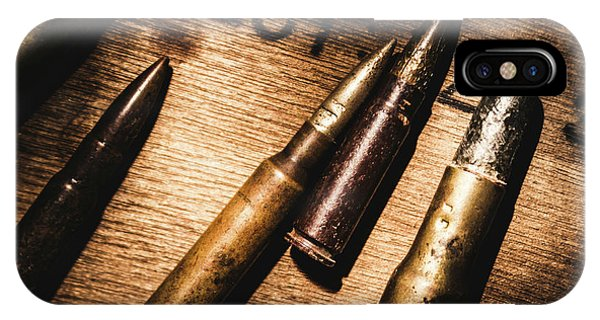 Military iPhone Case - Ammo Supplies by Jorgo Photography - Wall Art Gallery