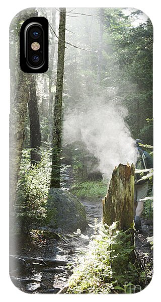 Ammonoosuc Ravine Trail - White Mountains New Hampshire Usa IPhone Case