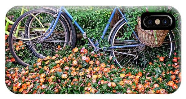 Fielding iPhone Case - Among The Flowers by Edward Fielding