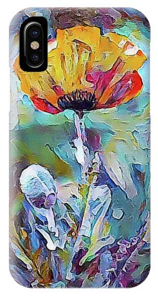 Among The Poppies II IPhone Case