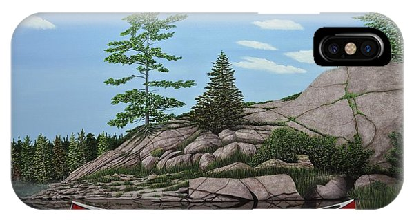 Among The Rocks II IPhone Case