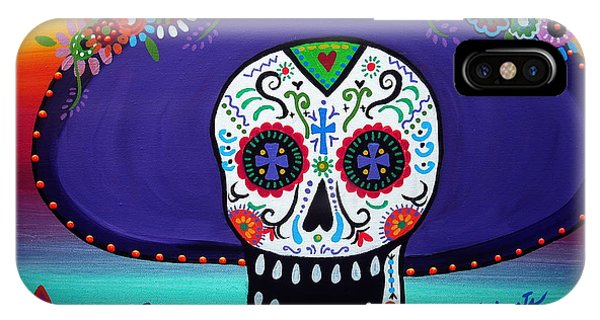 Amor Catrina IPhone Case