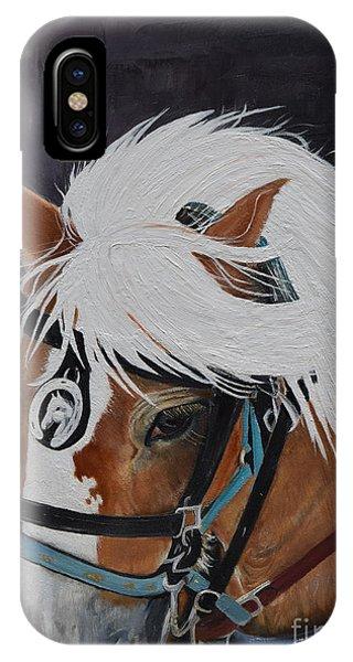 Amos - Haflinger - Horse IPhone Case