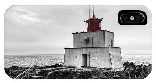 Amphitrite Point Lighthouse IPhone Case