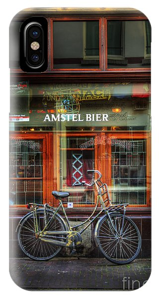 Amstel Bier Bicycle IPhone Case
