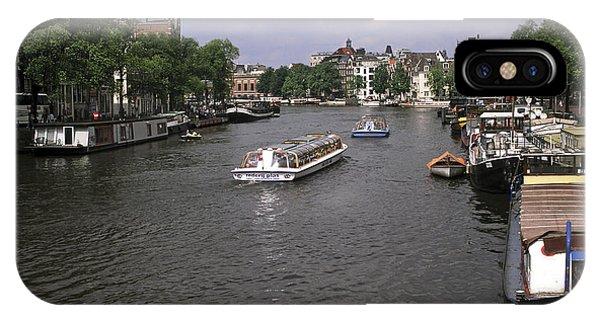 Amsterdam Water Scene IPhone Case