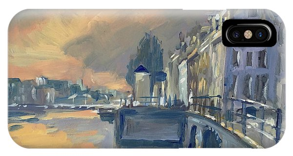 Briex iPhone Case - Amsterdm Morning Light Amstel by Nop Briex