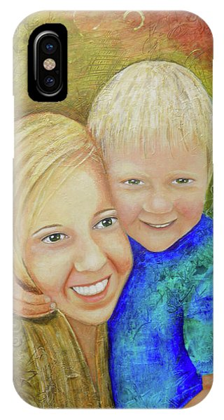 Amy's Kids IPhone Case