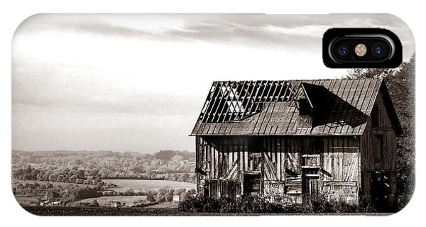 Normandy iPhone Case - An Abandoned Farmhouse In Normandy by Olivier Le Queinec