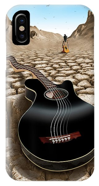 Buzzard iPhone Case - An Acoustic Nightmare 2 by Mike McGlothlen