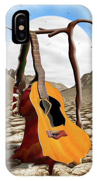 Buzzard iPhone Case - An Acoustic Nightmare by Mike McGlothlen