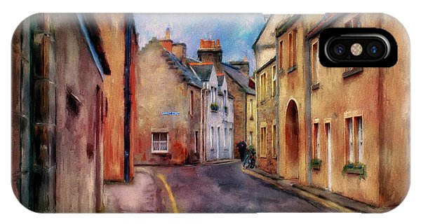 Andrew iPhone Case - An Afternoon In St Andrews by Lois Bryan