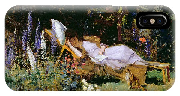 1877 iPhone Case - An Afternoon Nap by Harry Mitten Wilson