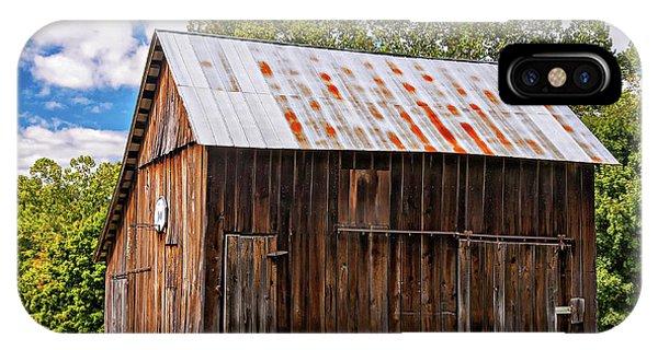 Steve Harrington iPhone Case - An American Barn 2 by Steve Harrington
