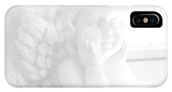 IPhone Case featuring the photograph An Angel Awaits by Beauty For God