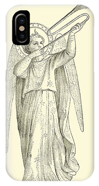 An Angel IPhone Case