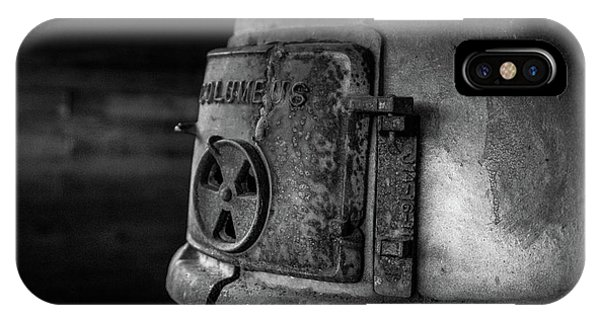IPhone Case featuring the photograph An Antique Stove by Doug Camara