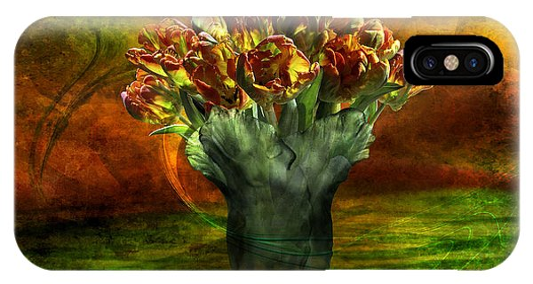 An Armful Of Tulips IPhone Case