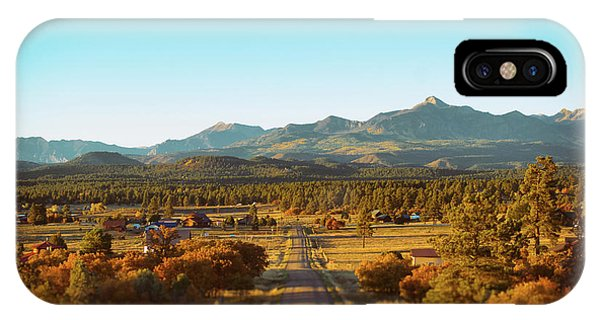 An Autumn Evening In Pagosa Meadows IPhone Case