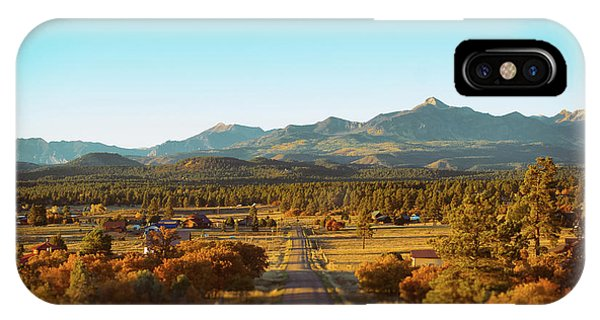 IPhone Case featuring the photograph An Autumn Evening In Pagosa Meadows by Jason Coward