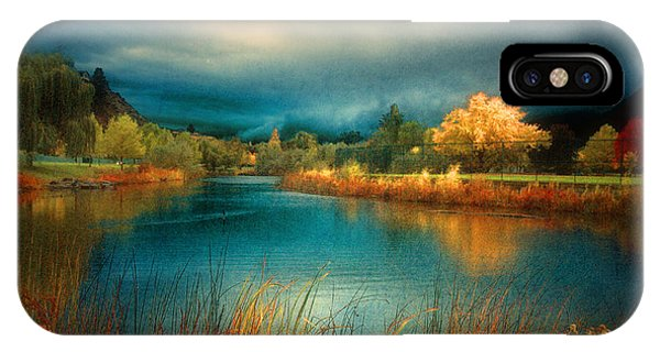 An Autumn Storm IPhone Case