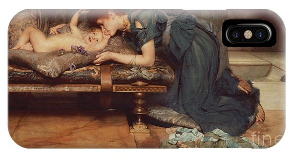 Chaise iPhone Case - An Earthly Paradise by Sir Lawrence Alma-Tadema