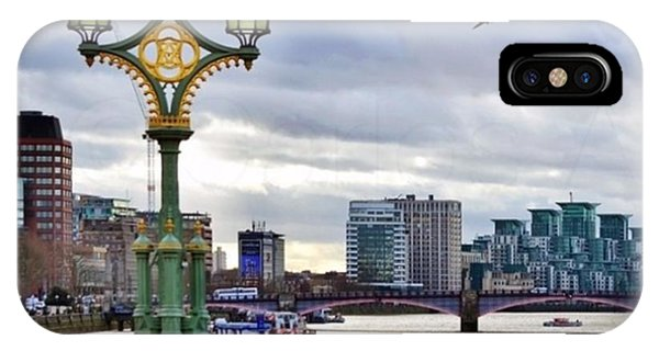 London iPhone Case - An Empty Westminster Bridge • #london by Carlos Alkmin