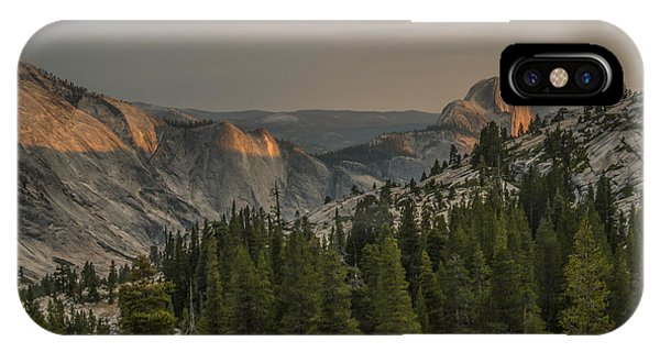 An Evening At Olmstead Point - Pt 3 IPhone Case