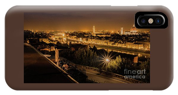 An Evening In Florence IPhone Case
