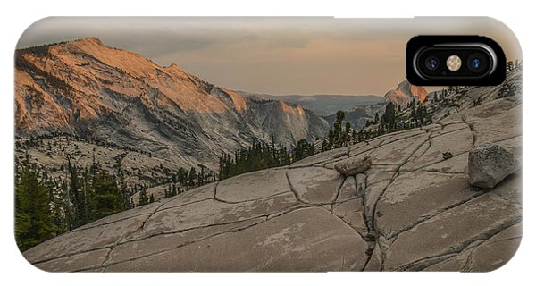An Evening On Olmstead Point - Pt 1 IPhone Case