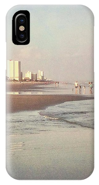 An Evening Walking The Grand Strand IPhone Case